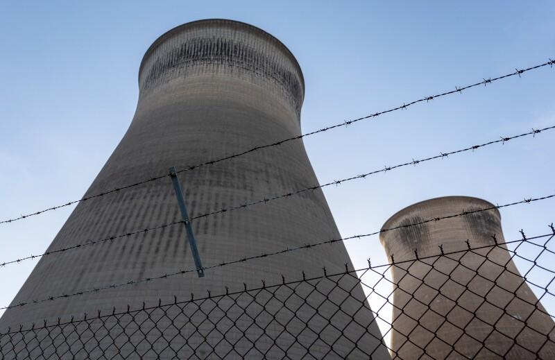 Yorkshire/uk,-,02.25.2019:,Ferrybridge,Power,Station,Cooling,Towers,Before,Demolition.