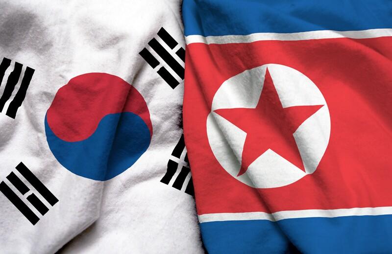 ss1059722948-countries-flags-north-korea-south-korea